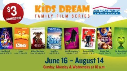 Movie Tavern's Kids Dream Series