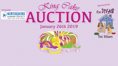 King Cake Auction for Northshore Humane Society